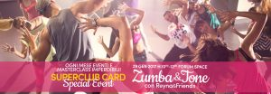 evento zumba forum space roma