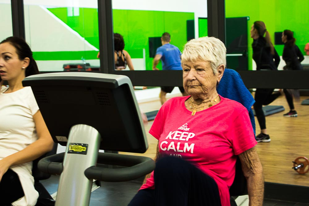 fitness terza età